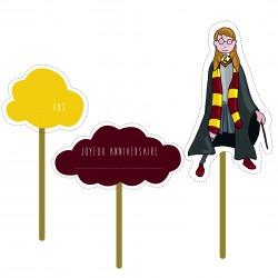 Cake topper - Hermione